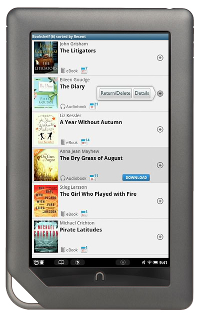 nook with overdrive